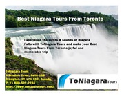 Best Niagara Tours From Toronto